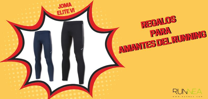 Regalos para amantes del running - Mallas de running hombre Joma Elite VI