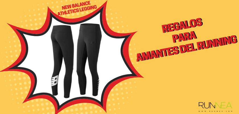 Regalos para amantes del running - Mallas de running mujer New Balance Athletics Legging