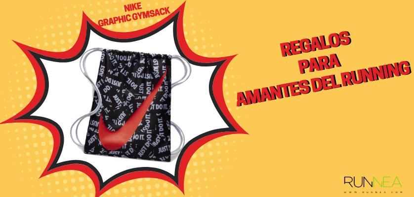 Regalos para amantes del running - Mochila saco Nike Graphic Gymsack