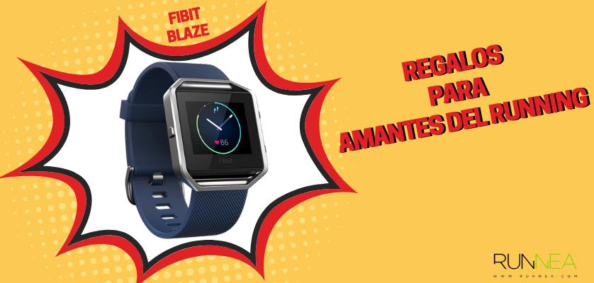 Regalos para amantes del running - Smartwatch Fitbit Blaze