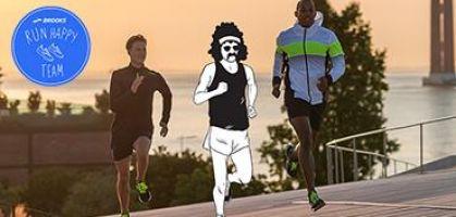 """¿Te apuntas a formar parte de la comunidad del """"Run Happy Team"""" de Brooks?"""