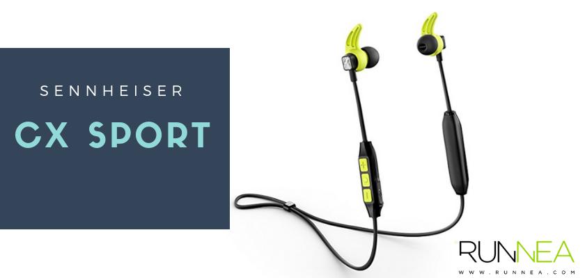Los mejores auriculares inalámbricos para hacer deporte 2019, Sennheiser CX Sport
