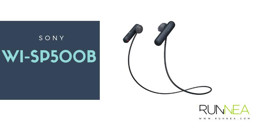 Los mejores auriculares inalámbricos para hacer deporte 2019, Sony WI-SP500B