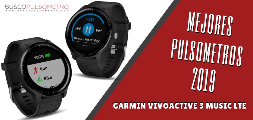 Mejores Pulsometros 2019 - Garmin Vivoactive 3 Music LTE