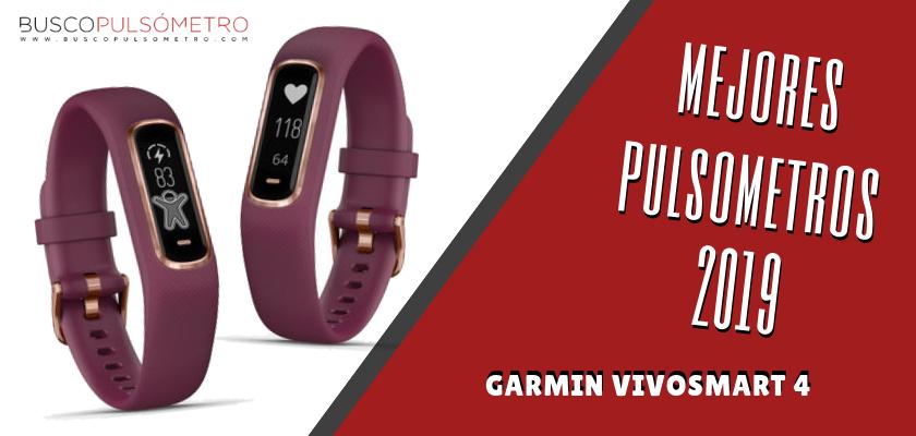 Mejores Pulsometros 2019 - Garmin Vivosmart 4