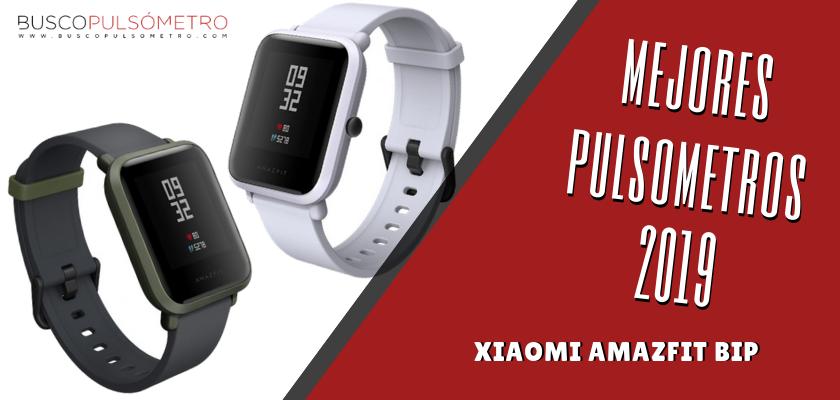 Mejores Pulsometros 2019 - Xiaomi Amazfit Bip