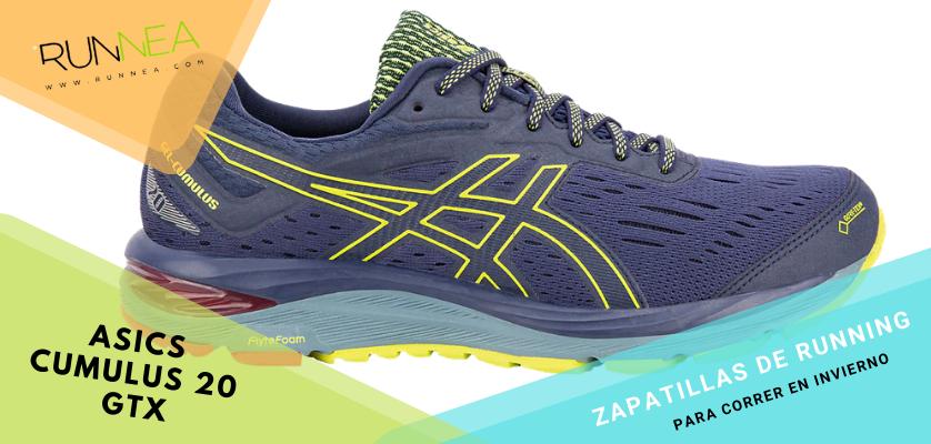 Zapatillas de running para correr invierno - ASICS Gel Cumulus 20 GTX