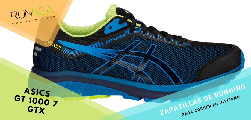 Zapatillas de running para correr invierno - ASICS GT 1000 7 GTX