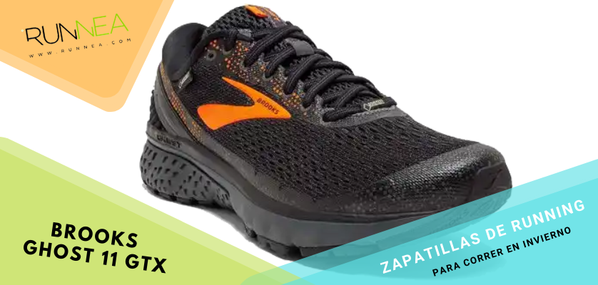 Zapatillas de running para correr invierno - Brooks Ghost 11 GTX