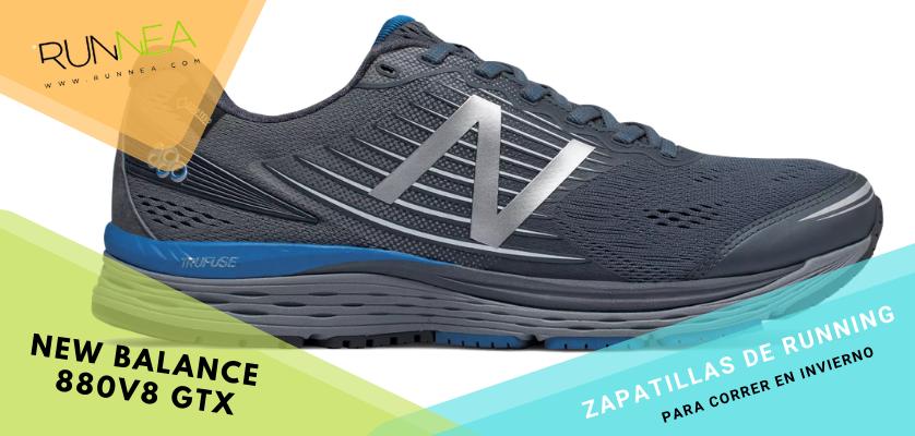 Zapatillas de running para correr invierno - New Balance 880v8 GTX