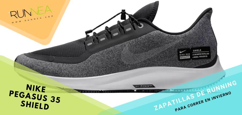Zapatillas de running para correr invierno - Nike Pegaus 35 Shield