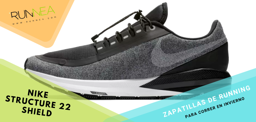 Zapatillas de running para correr invierno - Nike Air Zoom Structure 22 Shield