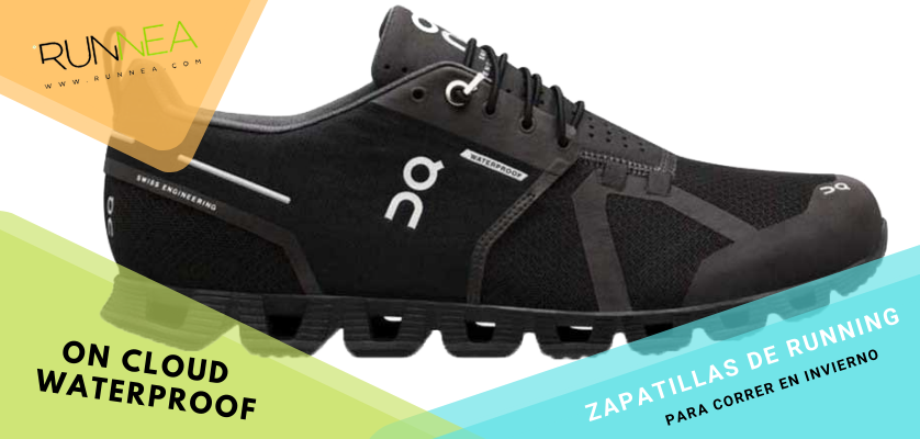 Zapatillas de running para correr invierno - On Cloud Waterproof
