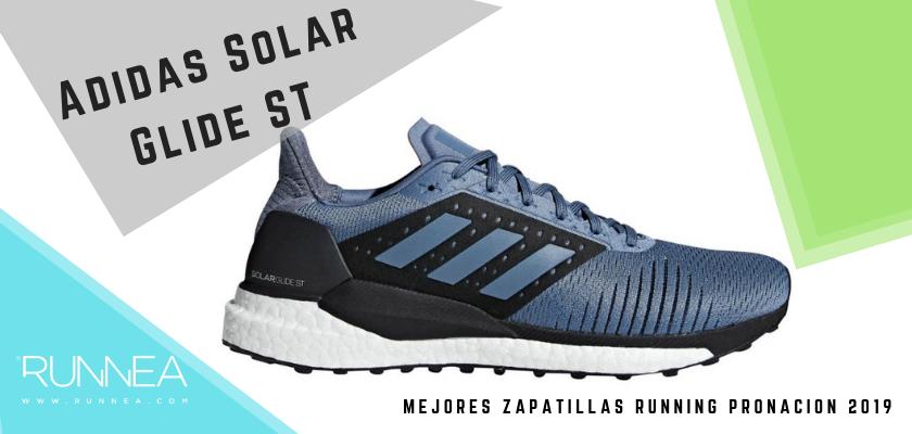 Las mejores zapatillas de pronación 2019, Adidas Solar Glide ST