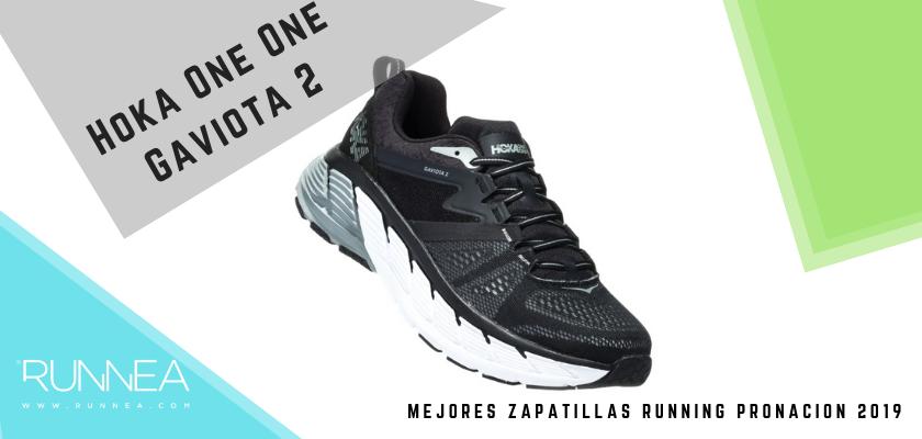 Las mejores zapatillas de pronación 2019, Hoka One One Gaviota 2