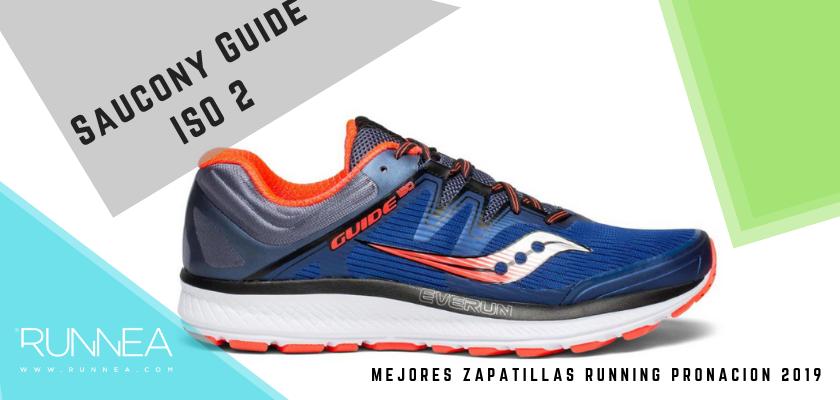Las mejores zapatillas de pronación 2019, Saucony Guide ISO 2