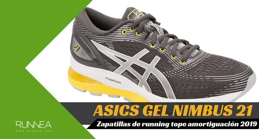 Mejores zapatillas de running tope de amortiguación 2019 para corredores neutros - ASICS Gel Nimbus 21