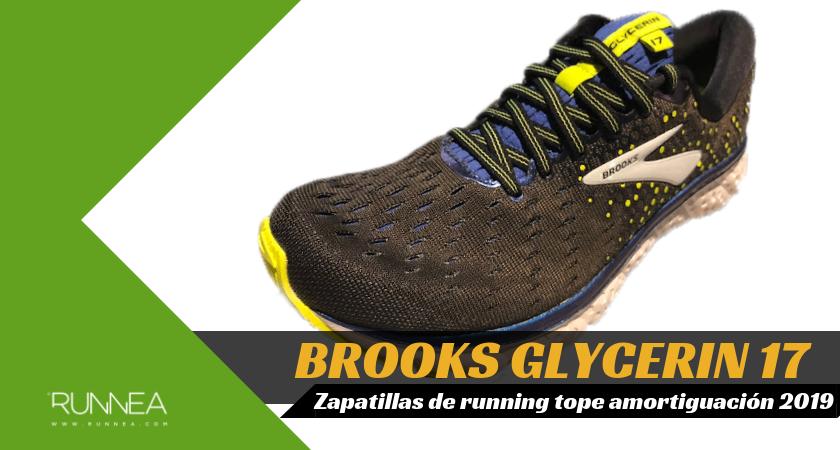 Mejores zapatillas de running tope de amortiguación 2019 para corredores neutros - Brooks Glycerin 17