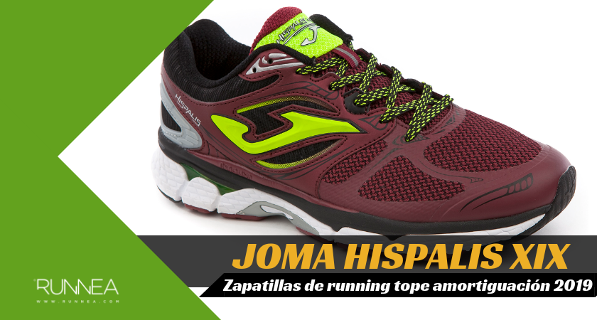 Mejores zapatillas de running tope de amortiguación 2019 para corredores neutros - Joma Hispalis XIX