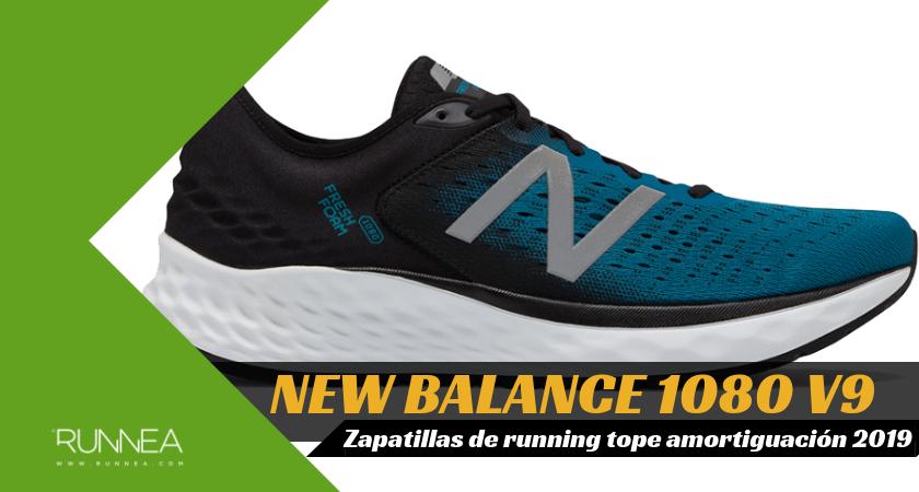 Mejores zapatillas de running tope de amortiguación 2019 para corredores neutros - New Balance Fresh Foam 1080 v9