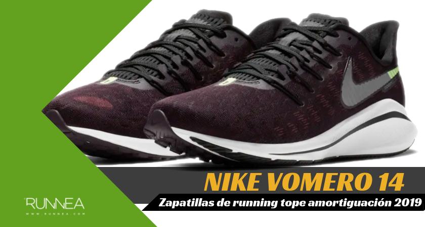 size 40 7b5b2 dddf7 Mejores zapatillas de running tope de amortiguación 2019 para corredores  neutros - Nike Vomero 14