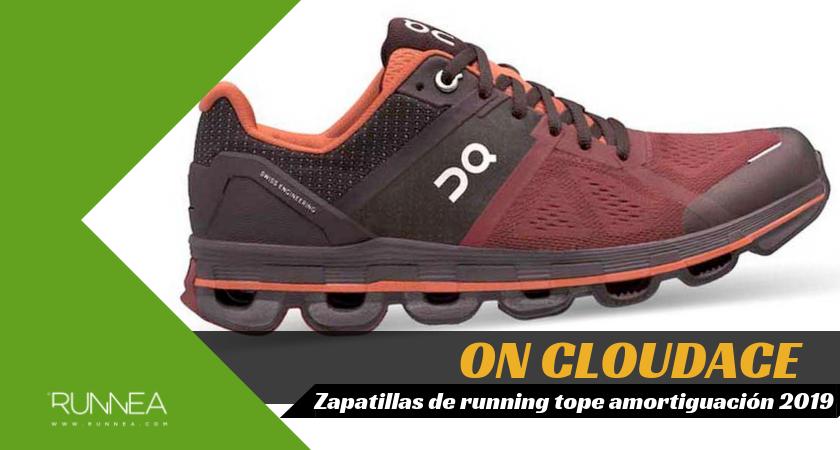 Mejores zapatillas de running tope de amortiguación 2019 para corredores neutros - On Cloudace