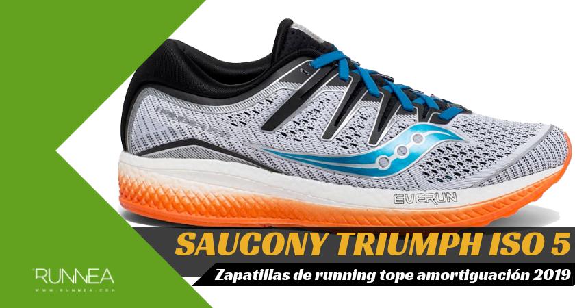 Mejores zapatillas de running tope de amortiguación 2019 para corredores neutros - Saucony Triumph ISO 5