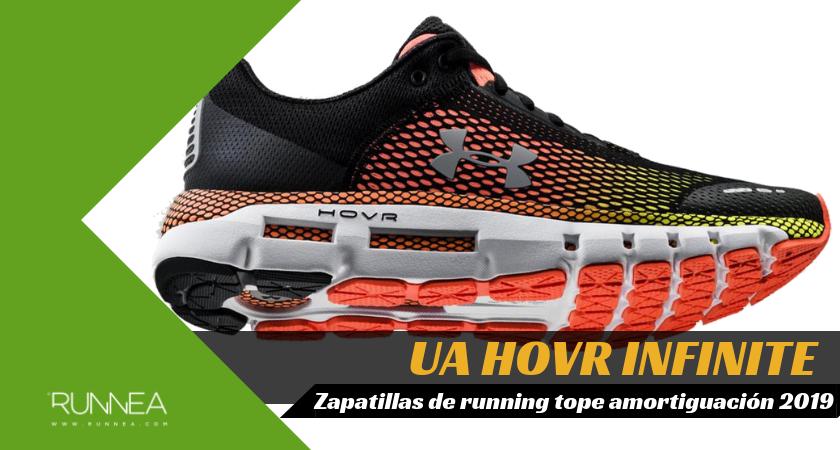 Mejores zapatillas de running tope de amortiguación 2019 para corredores neutros - Under Armour HOVR Infinite