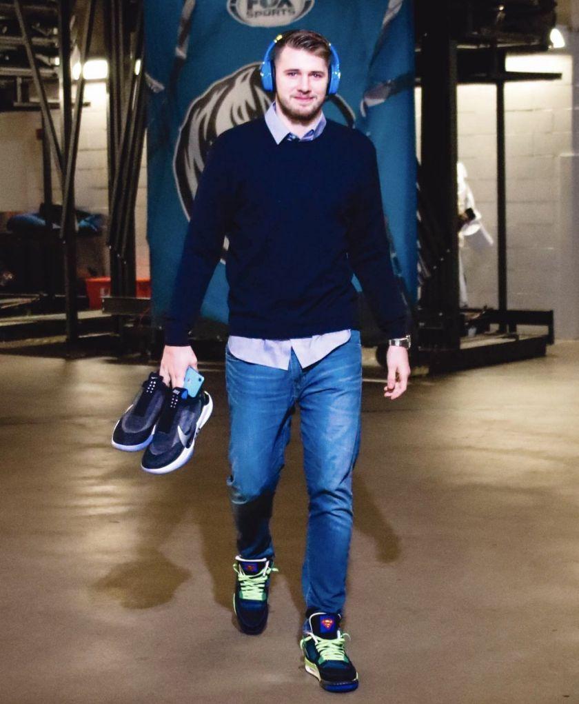 Luka Doncic Nike Adapt BB