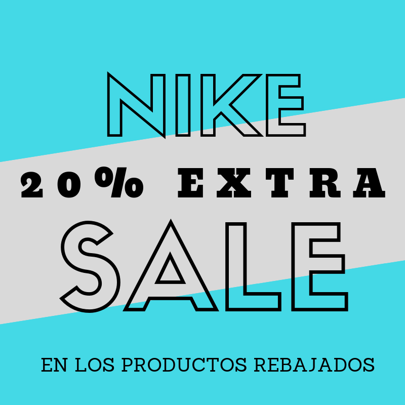 Descuento 20% EXTRA en Nike
