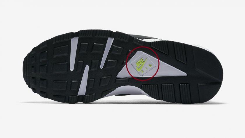 Nike Huarache detalles suela