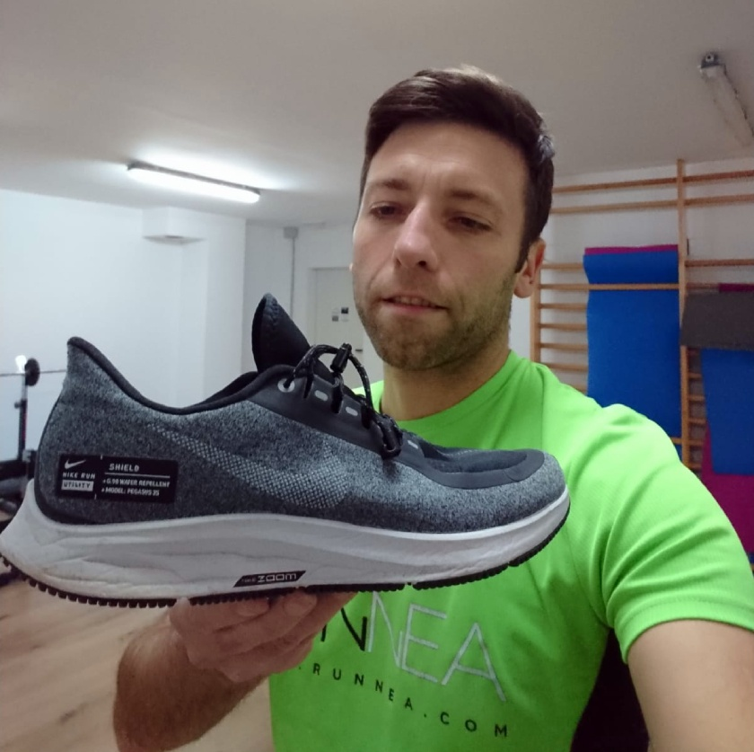 Nike Air Zoom Pegasus 35 Shield : Review - Zapatillas ...
