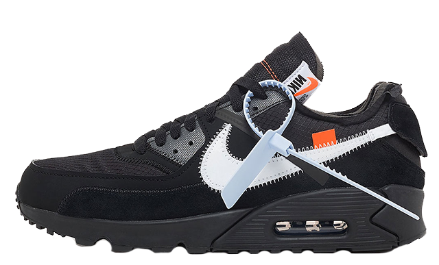 Nike Air Max 90 x Off White Black