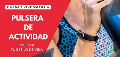 Garmin Vívosmart 4, la pulsera de actividad que debes tener para un estilo de vida activo