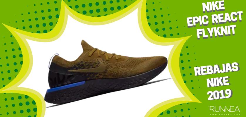 Rebajas en zapatillas de running Nike 2019, mejores ofertas - Nike Epic React Flyknit