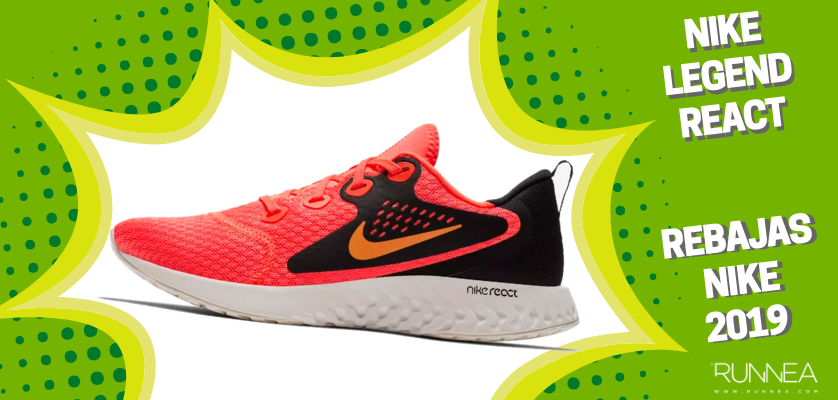 Rebajas en zapatillas de running Nike 2019, mejores ofertas - Nike Legend React