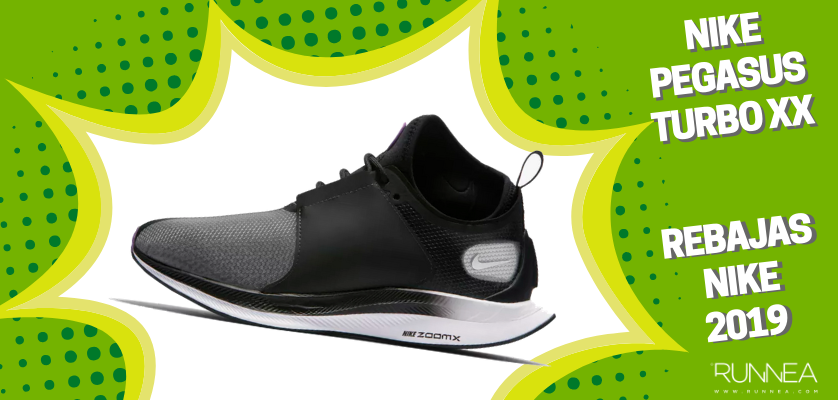 new arrival 2e8b4 351d9 Rebajas en zapatillas de running Nike 2019, mejores ofertas - Nike Zoom  Pegasus Turbo XX