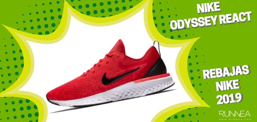 Rebajas en zapatillas de running Nike 2019, mejores ofertas - Nike Odyssey React
