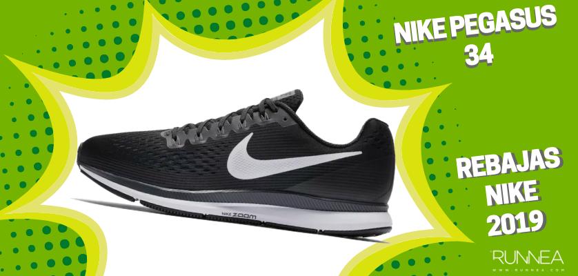 Rebajas en zapatillas de running Nike 2019, mejores ofertas - Nike Pegasus 34