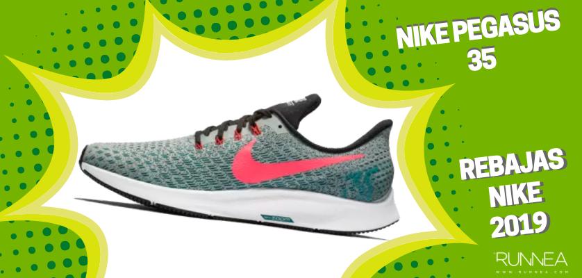 Rebajas en zapatillas de running Nike 2019, mejores ofertas - Nike Pegasus 35