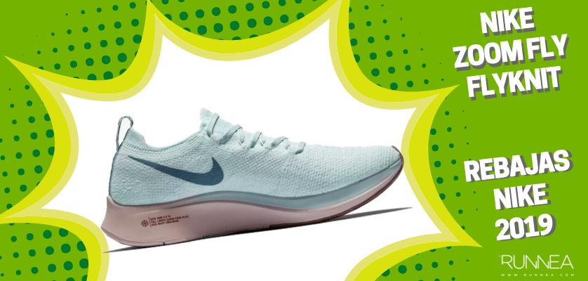 Rebajas en zapatillas de running Nike 2019, mejores ofertas - Nike Zoom Fly Flyknit