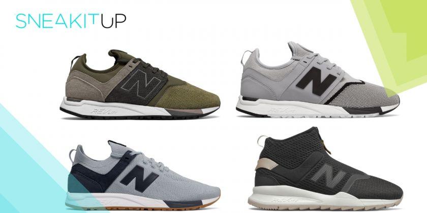 Variedad de estilos para unas New Balance 247 que usarás