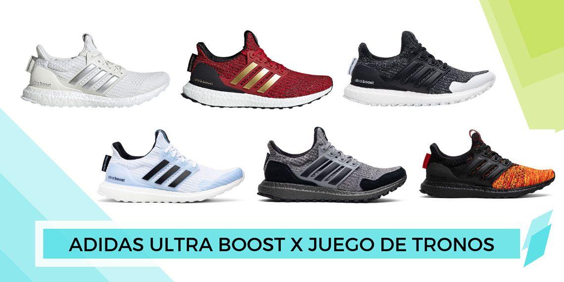 Estimado Armario veterano  Las Adidas Ultra Boost Juego de Tronos que aparecerán en 2019