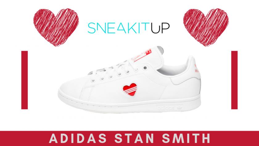 Adidas Super Stan Smith blancas regalo san valentin