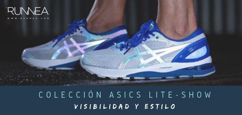 best loved 0324e 338c9 Colección ASICS Lite-Show, las zapatillas de running que te harán brillar