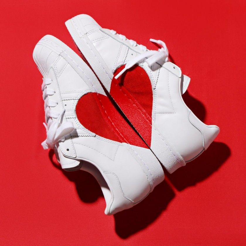 Adidas Super Star San Valentín 2018