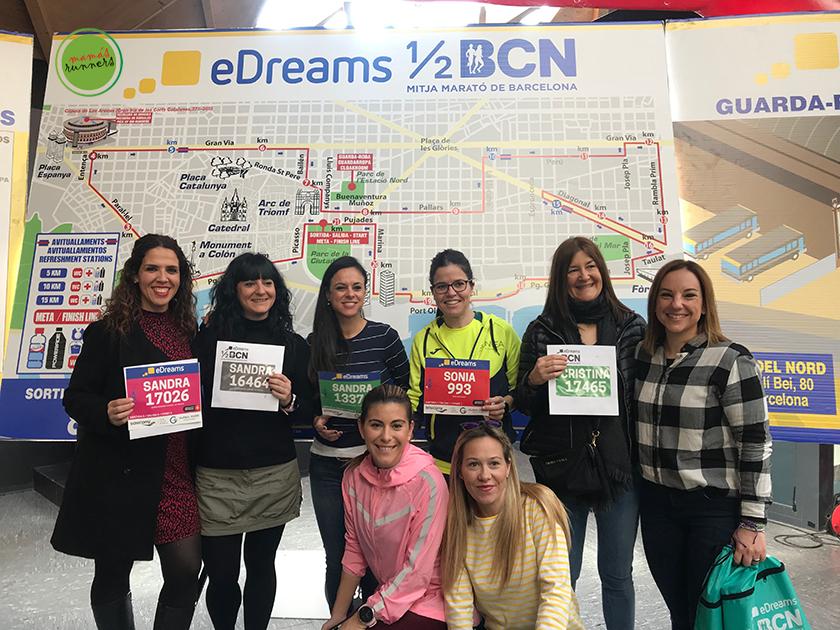 Media Maratón de Barcelona 2019: Feria del Corredor, punto de encuentro - foto 1