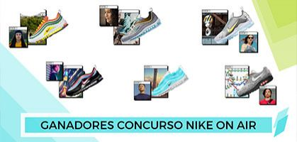 Estos son los ganadores del concurso Nike On Air 2019