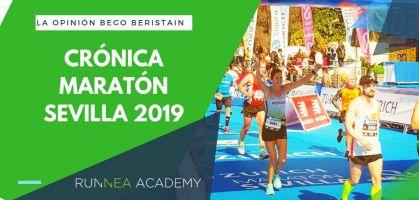 Maratón de Sevilla 2019: Crónica de Bego Beristain
