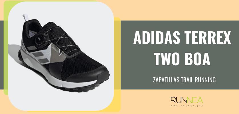 half off d160a 8500b Mejores zapatillas trail running de adidas - Terrex Two Boa